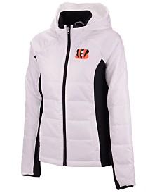 G-III Sports Women's Cincinnati Bengals Defense Polyfill Jacket