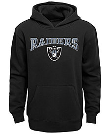 Outerstuff Oakland Raiders Fleece Hoodie, Big Boys (8-20)