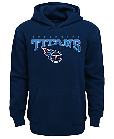 Outerstuff Tennessee Titans Fleece Hoodie, Big Boys (8-20)