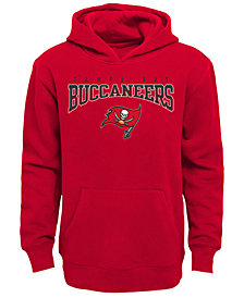 Outerstuff Tampa Bay Buccaneers Fleece Hoodie, Big Boys (8-20)
