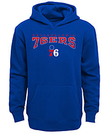 Outerstuff Philadelphia 76ers Fleece Hoodie, Big Boys (8-20)