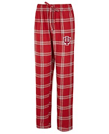 Concepts Sport Men's Indiana Hoosiers Homestretch Flannel Pajama Pants