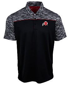 Antigua Men's Utah Utes Final Play Polo
