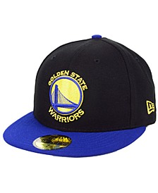 Golden State Warriors Basic 2 Tone 59FIFTY Fitted Cap
