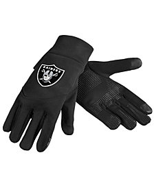 Forever Collectibles Oakland Raiders Neoprene Texting Gloves
