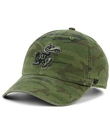 '47 Brand Kansas Jayhawks Regiment CLEAN UP Strapback Cap