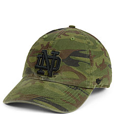 '47 Brand Notre Dame Fighting Irish Regiment CLEAN UP Strapback Cap