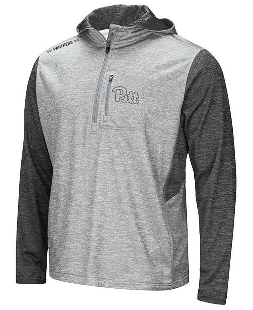 Colosseum Men's Pittsburgh Panthers Reflective Quarter-Zip Pullover