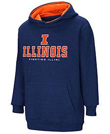 Colosseum Illinois Fighting Illini Pullover Hooded Sweatshirt, Big Boys (8-20)