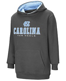 Colosseum North Carolina Tar Heels Pullover Hooded Sweatshirt, Big Boys (8-20)