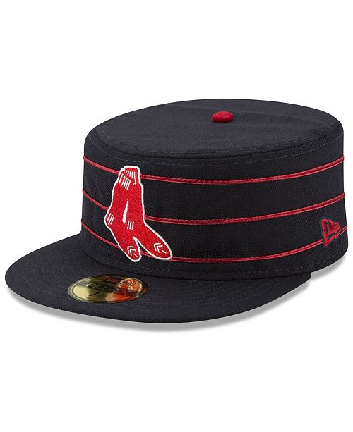 New Era Boston Red Sox Pillbox 59FIFTY-FITTED Cap - Sports Fan Shop ... f12d7e28efb7