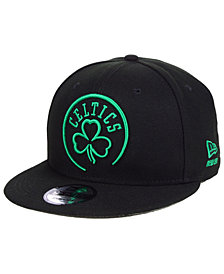 New Era Boston Celtics NBA Logo Trace 9FIFTY Snapback Cap