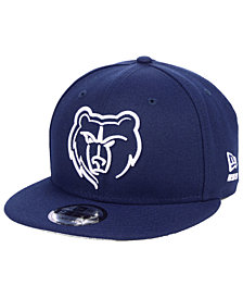 New Era Memphis Grizzlies Logo Trace 9FIFTY Snapback Cap