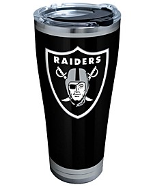 Oakland Raiders 30oz Rush Stainless Steel Tumbler
