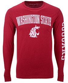 Colosseum Men's Washington State Cougars Midsize Slogan Long Sleeve T-Shirt