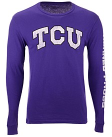 Men's TCU Horned Frogs Midsize Slogan Long Sleeve T-Shirt