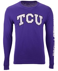 Colosseum Men's TCU Horned Frogs Midsize Slogan Long Sleeve T-Shirt