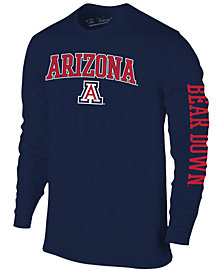 Colosseum Men's Arizona Wildcats Midsize Slogan Long Sleeve T-Shirt
