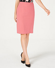 Nine West Back-Vent Pencil Skirt