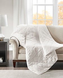 Deluxe 12lb Quilted Cotton Weighted Blanket