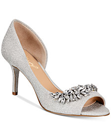Jewel Badgley Mischka Melvina Evening Sandals