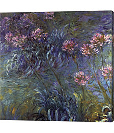 Jewelry Lilies by Claude Monet Canvas Art