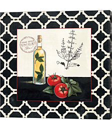 Basil and Tomatoes by Marco Fabiano Canvas Art