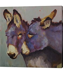 Nuzzle by Sarah Webber Canvas Art