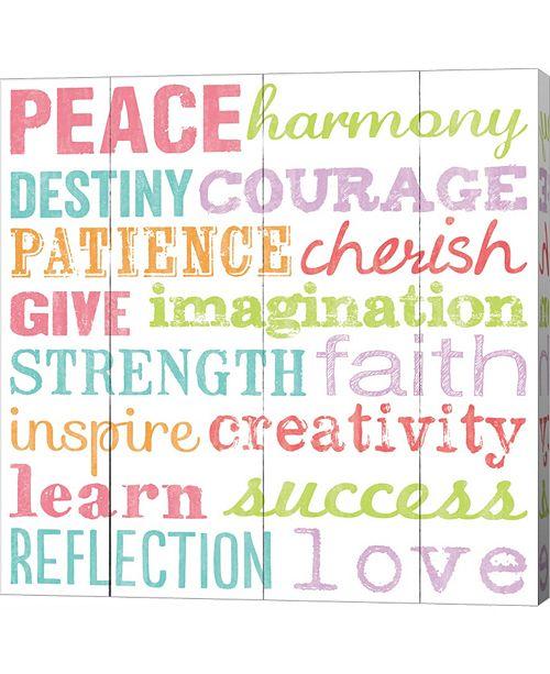 Metaverse Peace Harmony Destiny by Louise Carey Canvas Art