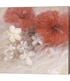 Hibiscus II by Li Bo Canvas Art