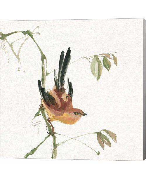 Metaverse Mountain Bush Warbler by Chris Paschke Canvas Art