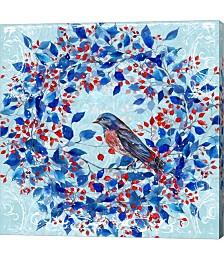 Blue Bird I by Irina Trzaskos Studio Canvas Art