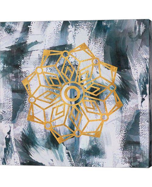 Metaverse Mandala by Lisa Powell Braun Canvas Art