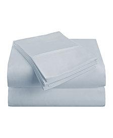 Superior Prestige 1500 Series Stripe Sheet Set - King - White