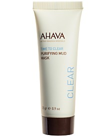 Ahava Purifying Mud Mask, 0.9 oz