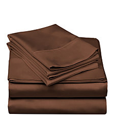 Superior 600 Thread Count Cotton Blend Solid Sheet Set - Split King