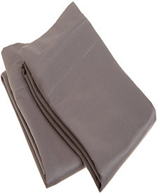 Superior 1500 Thread Count Egyptian Cotton Solid Pillowcase Set - King - White