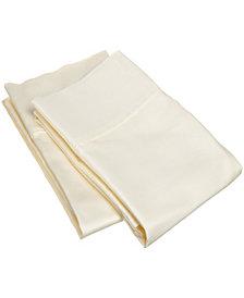 Superior 400 Thread Count Premium Combed Cotton Solid Pillowcase Set - King