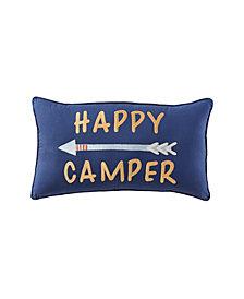 """Happy Camper 24"""" X 14"""" Pillow"""
