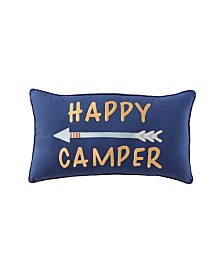 "Happy Camper 24"" X 14"" Pillow"