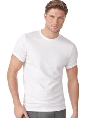 Calvin Klein Men's Underwear, Big and Tall Crew T Shirts 2 Pack ...