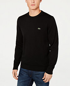Lacoste Men's Regular-Fit Sweater, Created for Macy's