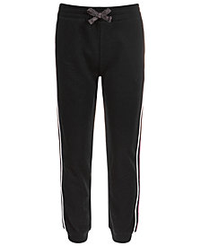 Ideology Big Girls Living Dream Side-Stripe Jogger Pants, Created for Macy's