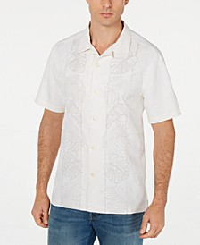 Men's Big & Tall Oceangrove Vines Silk Shirt