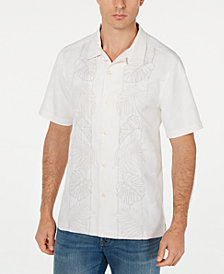 Tommy Bahama Men's Oceangrove Vines Embroidered Shirt