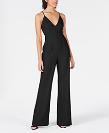 Lola Grace Juniors' Strappy-Back Jumpsuit