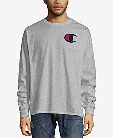 Champion Men's Long Sleeve Logo T-Shirt
