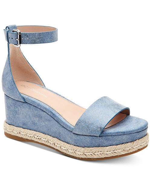 6ab83c2861e9 BCBGeneration Addie Espadrille Wedge Sandals  BCBGeneration Addie Espadrille  Wedge Sandals ...