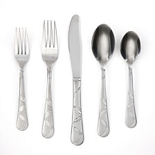 Felicity Sand 20-Piece Flatware Set, Service for 4