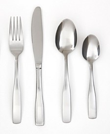 Madison Satin 16-Piece Flatware Set with Caddy, Service for 4